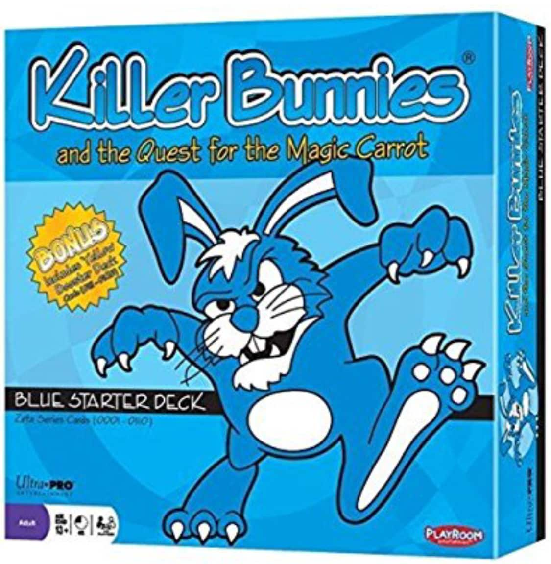 Amazon: $24.99 Killer Bunnies and the Quest for the Magic Carrot; Blue Starter Deck