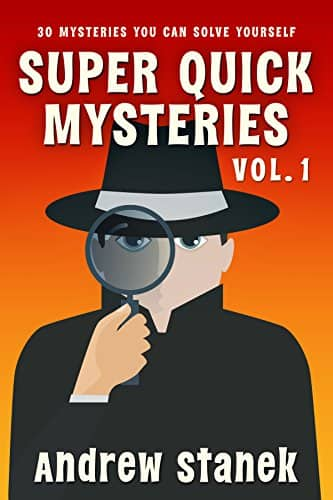 Free Kindle eBook: Super Quick Mysteries, Volume 1
