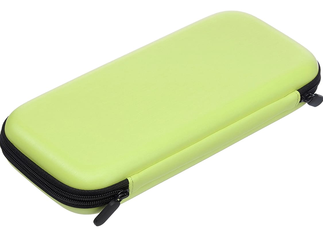 AmazonBasics Carrying Case for Nintendo Switch, Neon Yellow $3.59