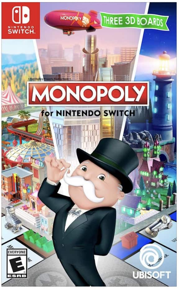 Best Buy: $14.99 Monopoly for Nintendo Switch - Nintendo Switch
