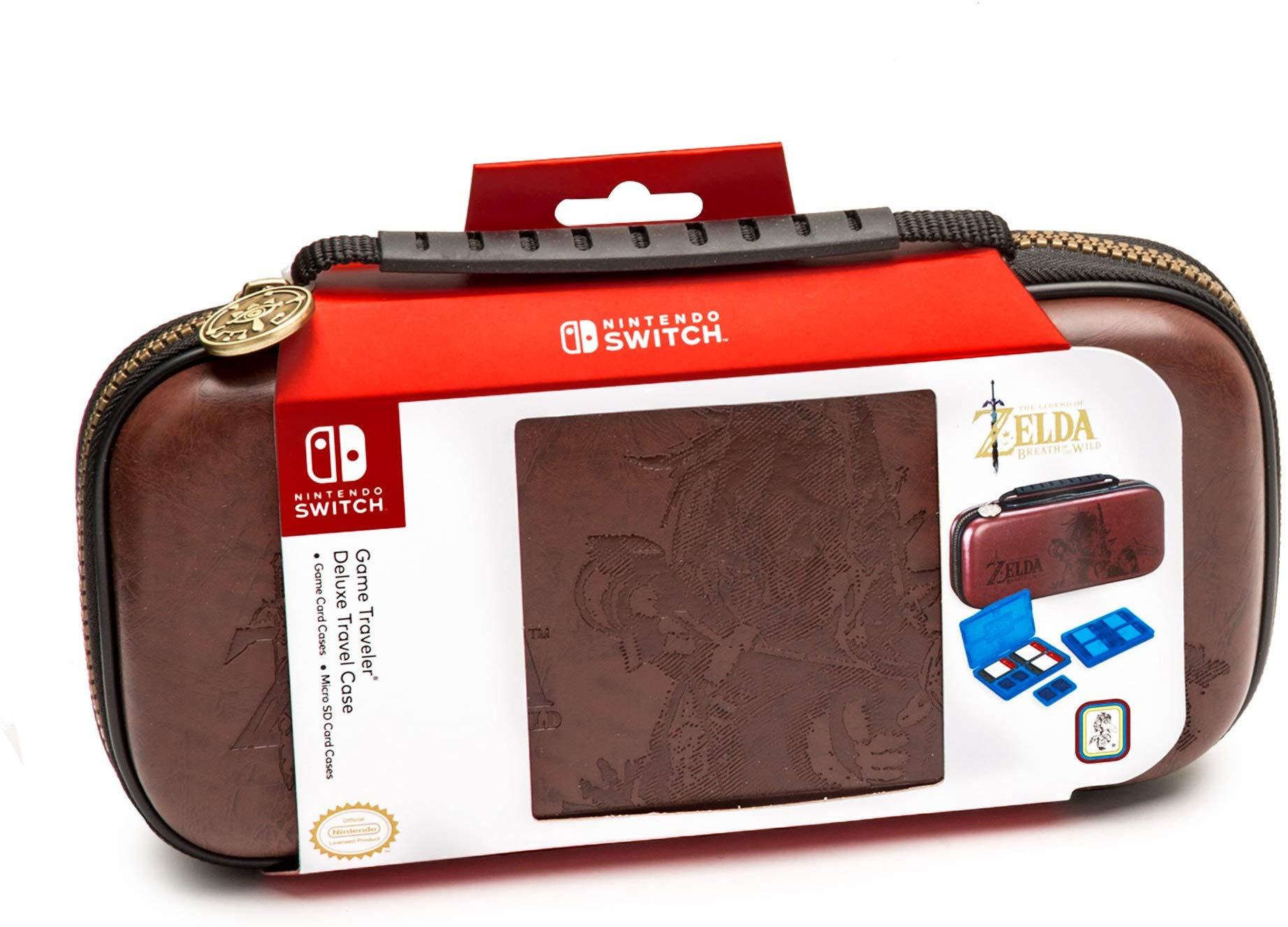 Amazon: $14.99 Nintendo Switch Zelda Breath of The Wild Carrying Case