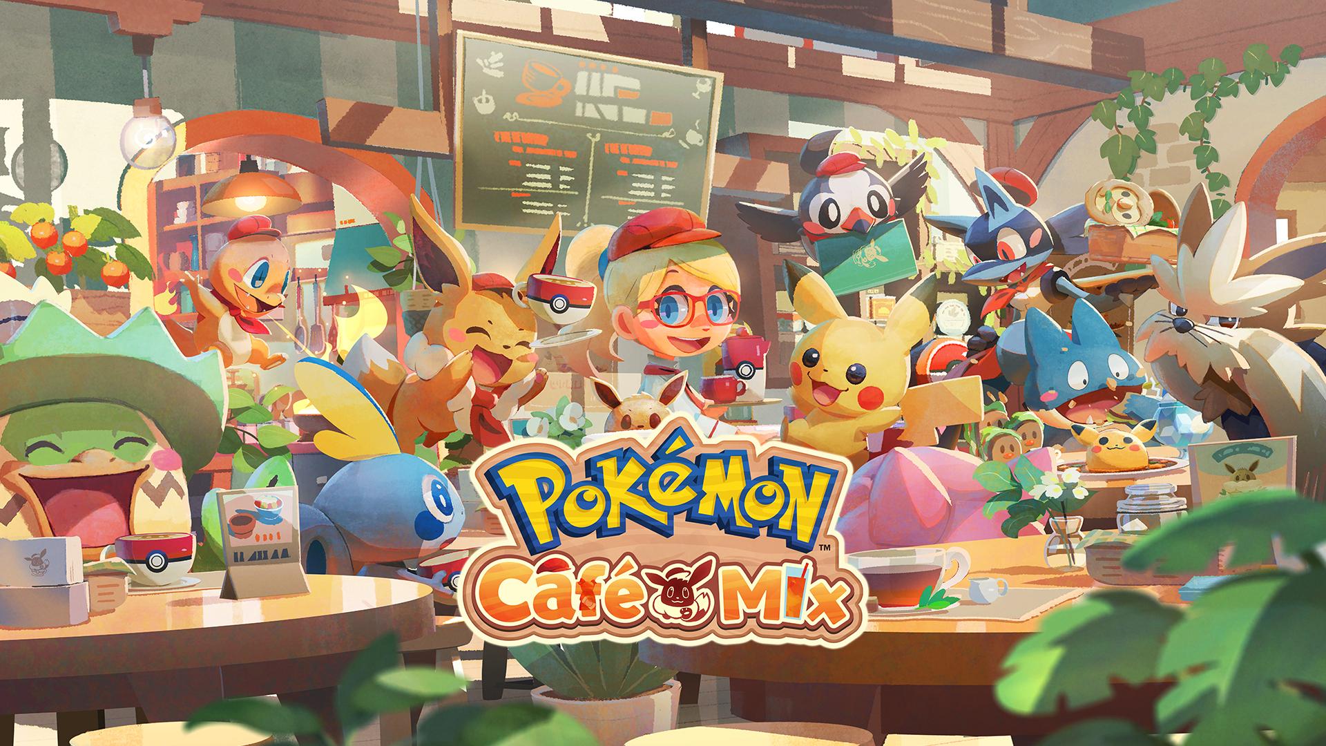 Nintendo: Pokémon Cafe Mix Free Download Nintendo Switch