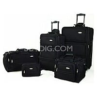 BuyDig Deal: Samsonite Luggage 5 Piece Travel Set (Black) $89 Fs Buydig