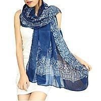 Amazon Deal: Women's Porcelain Pattern Scarf $1.69 + Free shipping