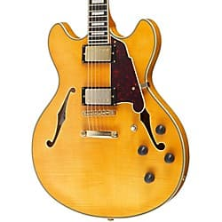 D'Angelico Excel Series DC Semi-Hollowbody Electric Guitar with Stopbar Tailpiece Natural $699 Fs @ MF