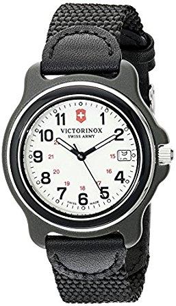 Victorinox Men's 249089 Original Analog Display Swiss Quartz Black Watch $78.99 (reg $119.99) + Fs @ Amazon Lightning Deal