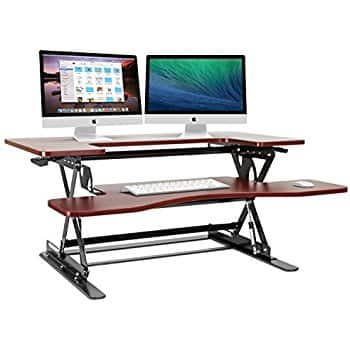 *Price Drop* Halter ED-600 Preassembled Height Adjustable Desk Sit / Stand Elevating Desktop - Black / Cherry / White $169.99 FS Amazon