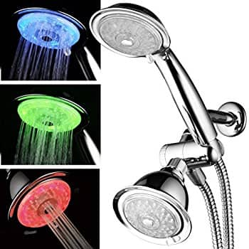HotelSpa Luxury 30-setting 3-way Shower Bundle with Rainfall Shower Head and Handheld Shower $31.90 FS @ Amazon
