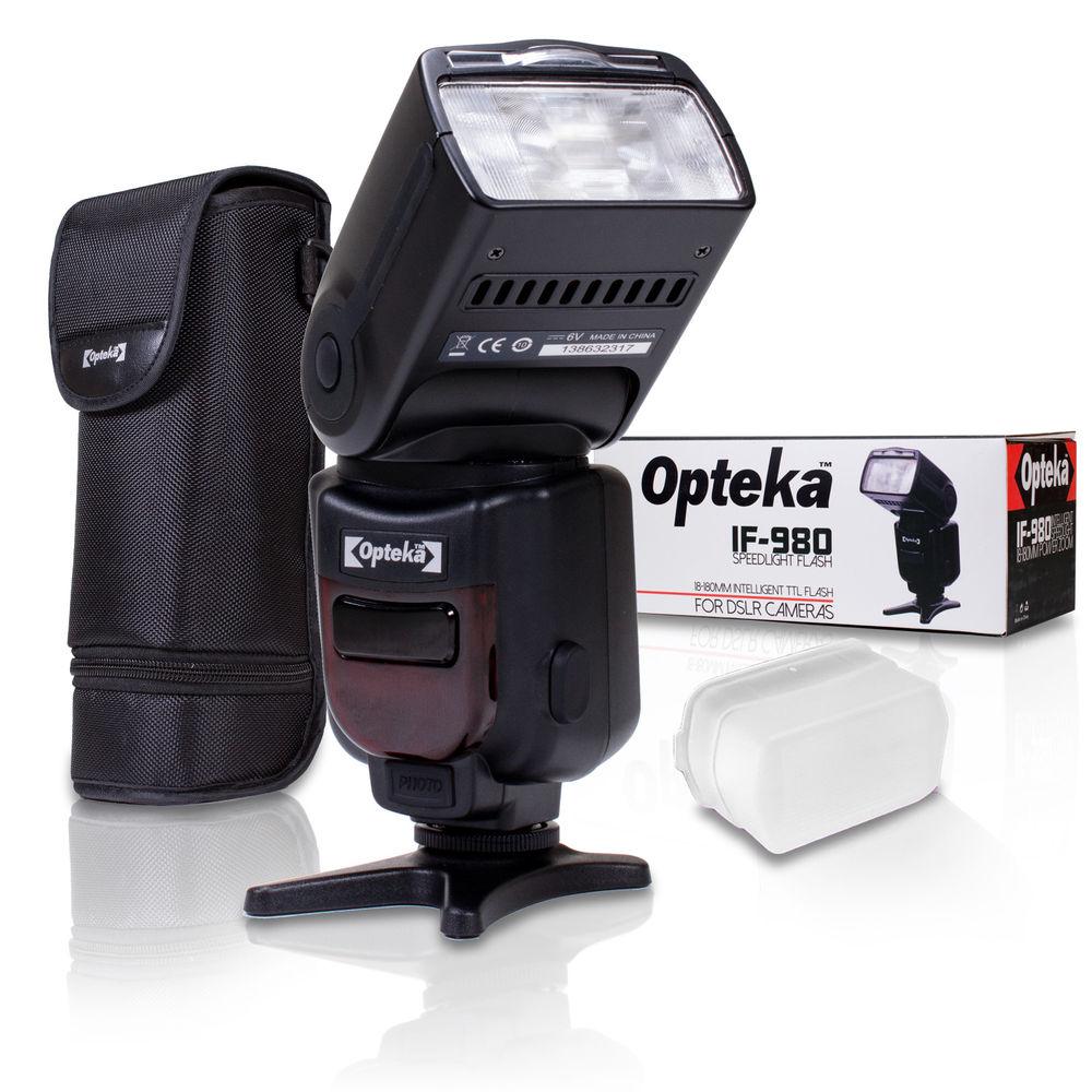 Opteka 28mm/35mm/50mm Lenses - $59.99 | 6.5mm Lens - $99.95 | 15mm Lens - $129.95 | i-TTL Speedlight Flash for Nikon $29 with FS on eBay