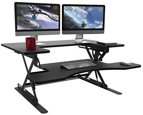 Halter ED-258 Preassembled Height Adjustable Desk Sit/Stand Desk Elevating Desktop $109.49 + FS Amazon