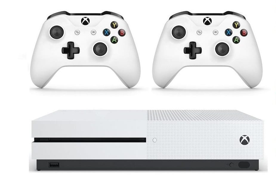 XBOX One S 1TB Bundle with 2 Wireless Controllers & 3 Month Game Pass Ultimate $199.99