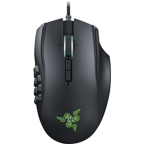 Razer Naga Chroma - Gaming Mouse - 12 Programmable Thumb Buttons & 16,000 Adjustible DPI $34.99