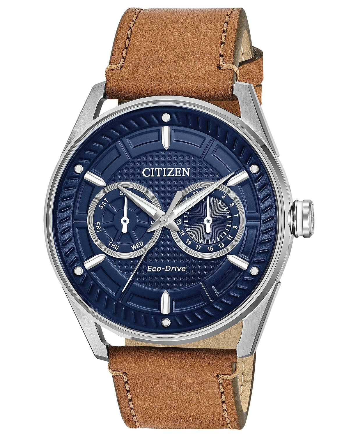 Citizen Drive from Citizen Eco-Drive Men's Brown Leather Strap Watch 42mm $179.35