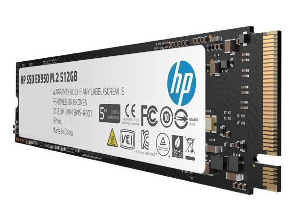 HP ex950 pcie nvme Ssd 512 gb 69.99 fs