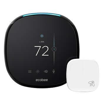 Costco Members: Ecobee4 smart thermostat with room sensor $170