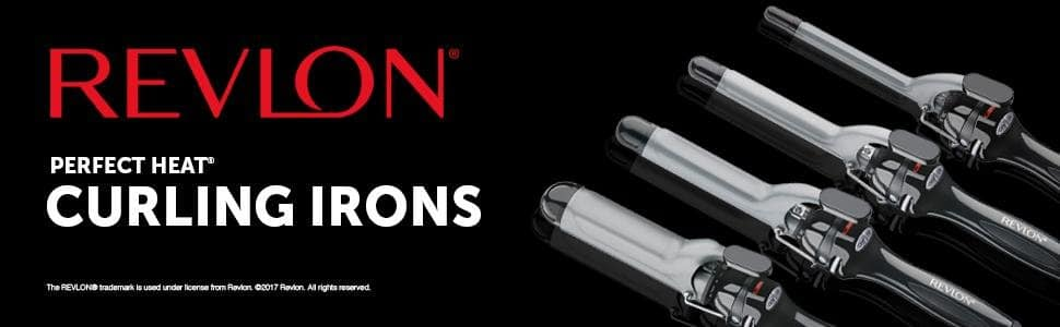"""Revlon Long Lasting Curls Curling Iron 1"""" or 1.5"""" $10 or $12 FS for Amazon Prime"""