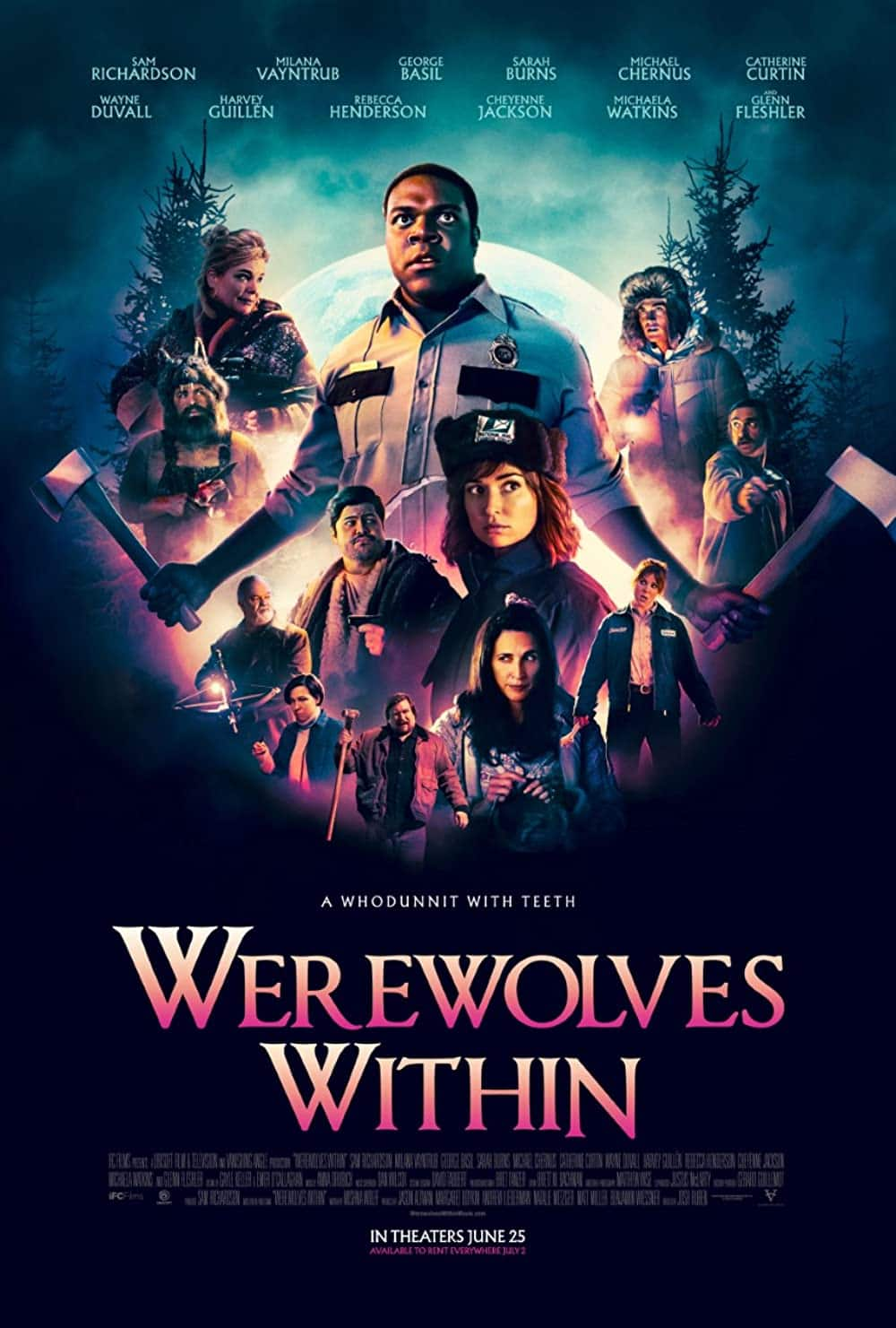 Werewolves Within (Digital HD Movie) $6.99 for Amazon Prime Members