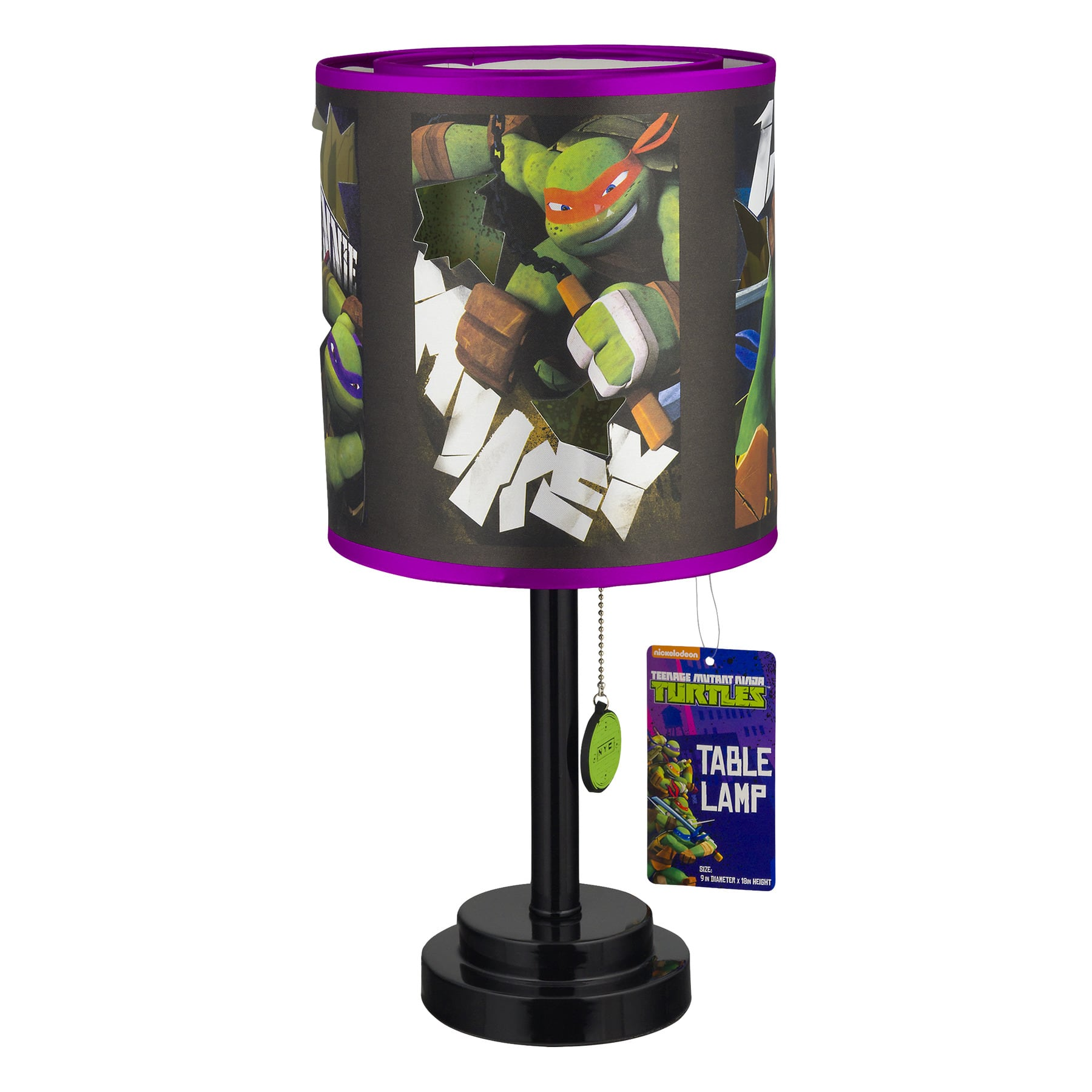 Teenage Mutant Ninja Turtles Table Lamp $12.18