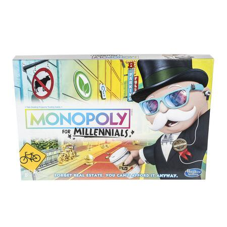 Monopoly for Millennials Board Game $11.99