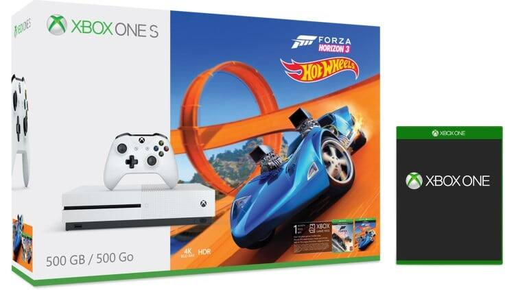 500gb Xbox One S + Free Game for $160