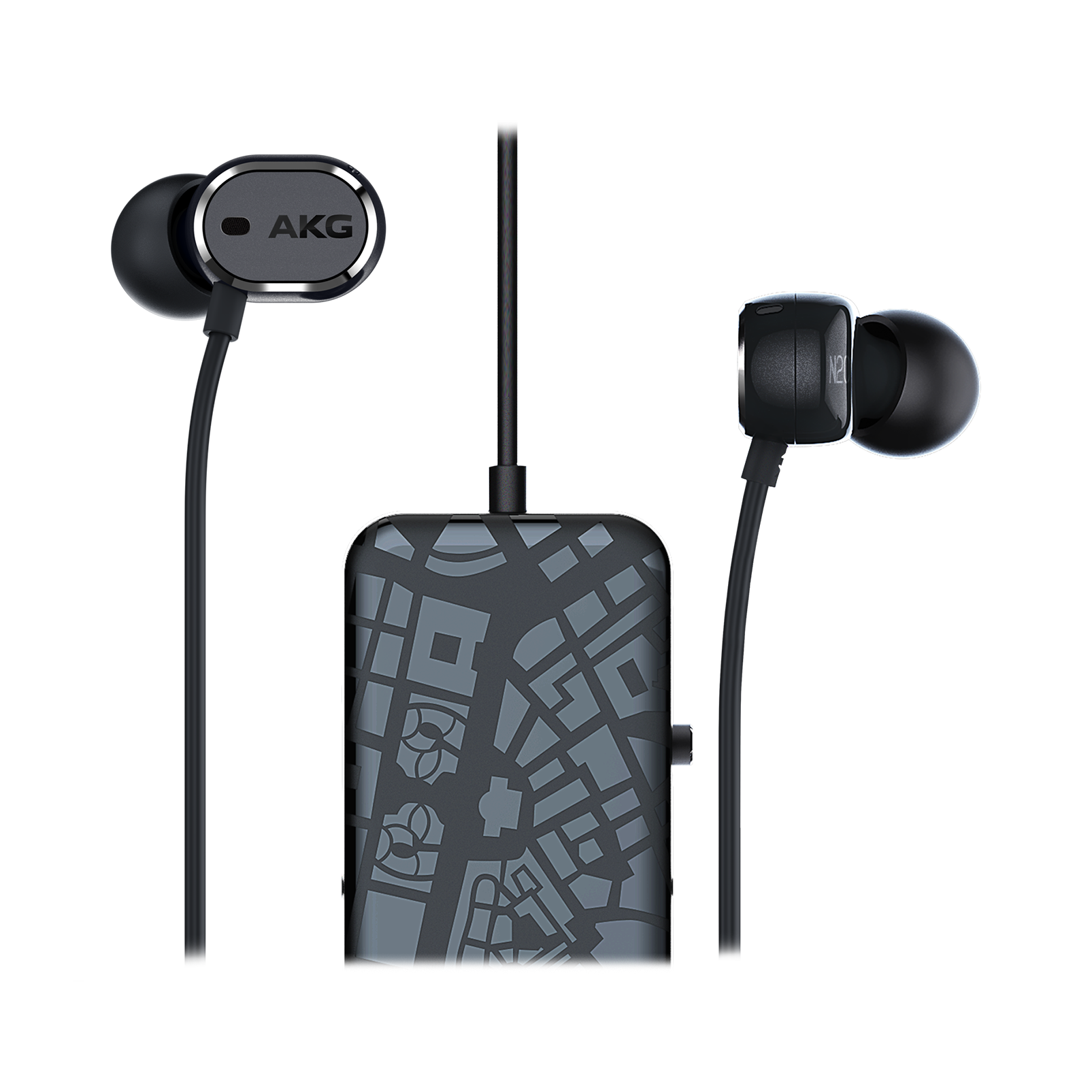 AKG N20 NC In-ear Headphones with Active Noise-cancelling $39.99