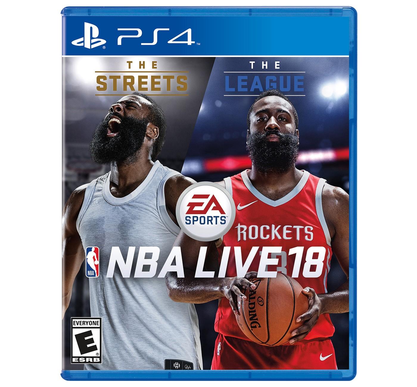 NBA Live 18 - PlayStation 4    $19.99