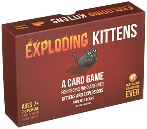 Exploding Kittens Card Game [Kittens] $11.99
