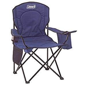 Coleman Oversized Quad Chair with Cooler [Blue] $14.43