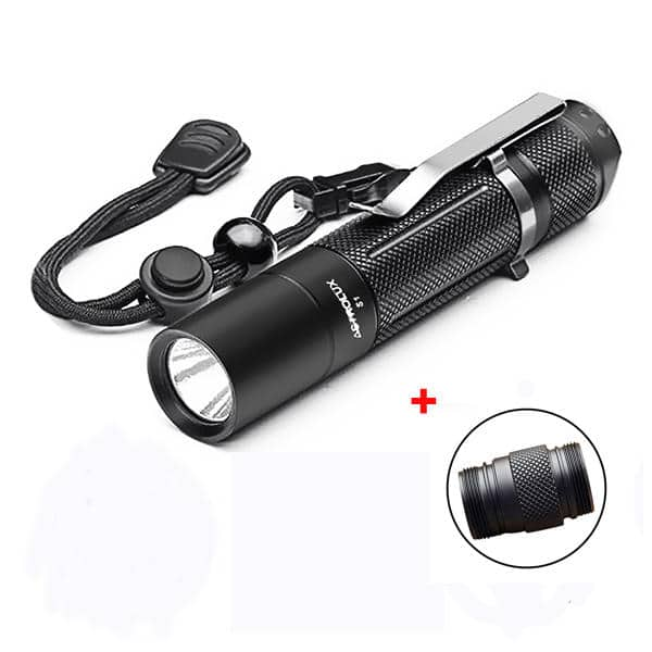 Astrolux S1 XPL 1600LM 7/4modes EDC LED Flashlight 18650/18350 $21.95
