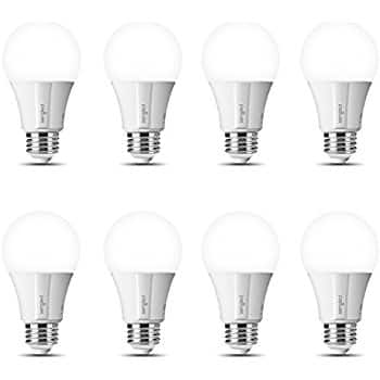 Sengled Element Classic A19 8 Pack - 60W Equivalent Daylight (5000K) Smart LED Bulb (Compatible with Amazon Alexa, Google Assistant, Samsung SmartThings and Wink) $65.44