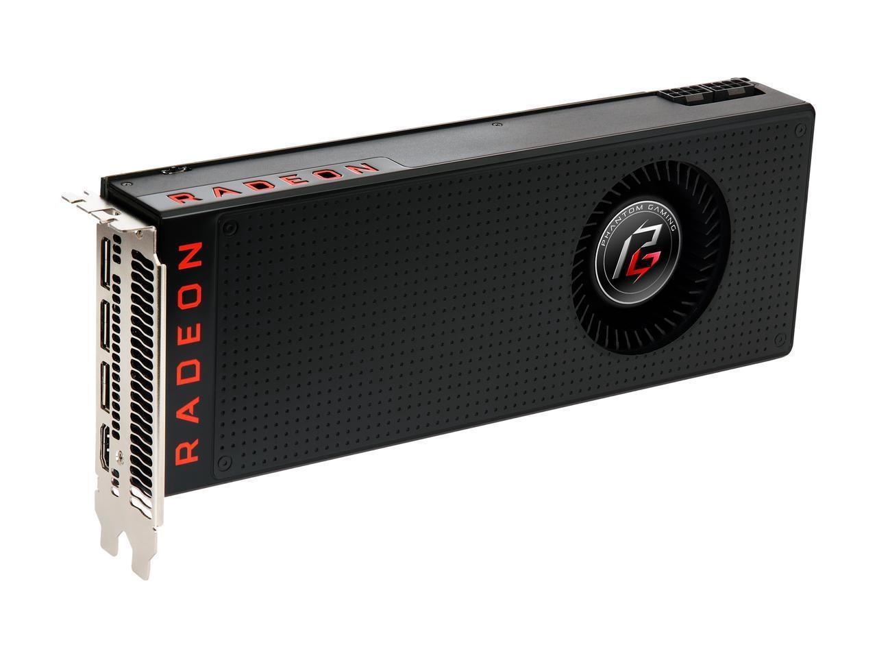 ASRock Phantom Gaming X Radeon RX VEGA 56 8GB Video Card + 2 AMD