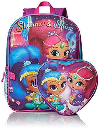 Shimmer & Shine Backpack With Lunch Kit At Amazon For $7.75 Shipped With Prime!