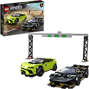 LEGO Speed Champions Lamborghini Urus ST-X and Lamborghini Huracán Super Trofeo EVO 76899 $39.99 FS