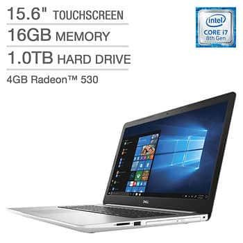 Costco Members - Dell Inspiron 15 5000 Series Touchscreen Laptop - Intel Core i7 - Radeon 530 - 1080p $749.99