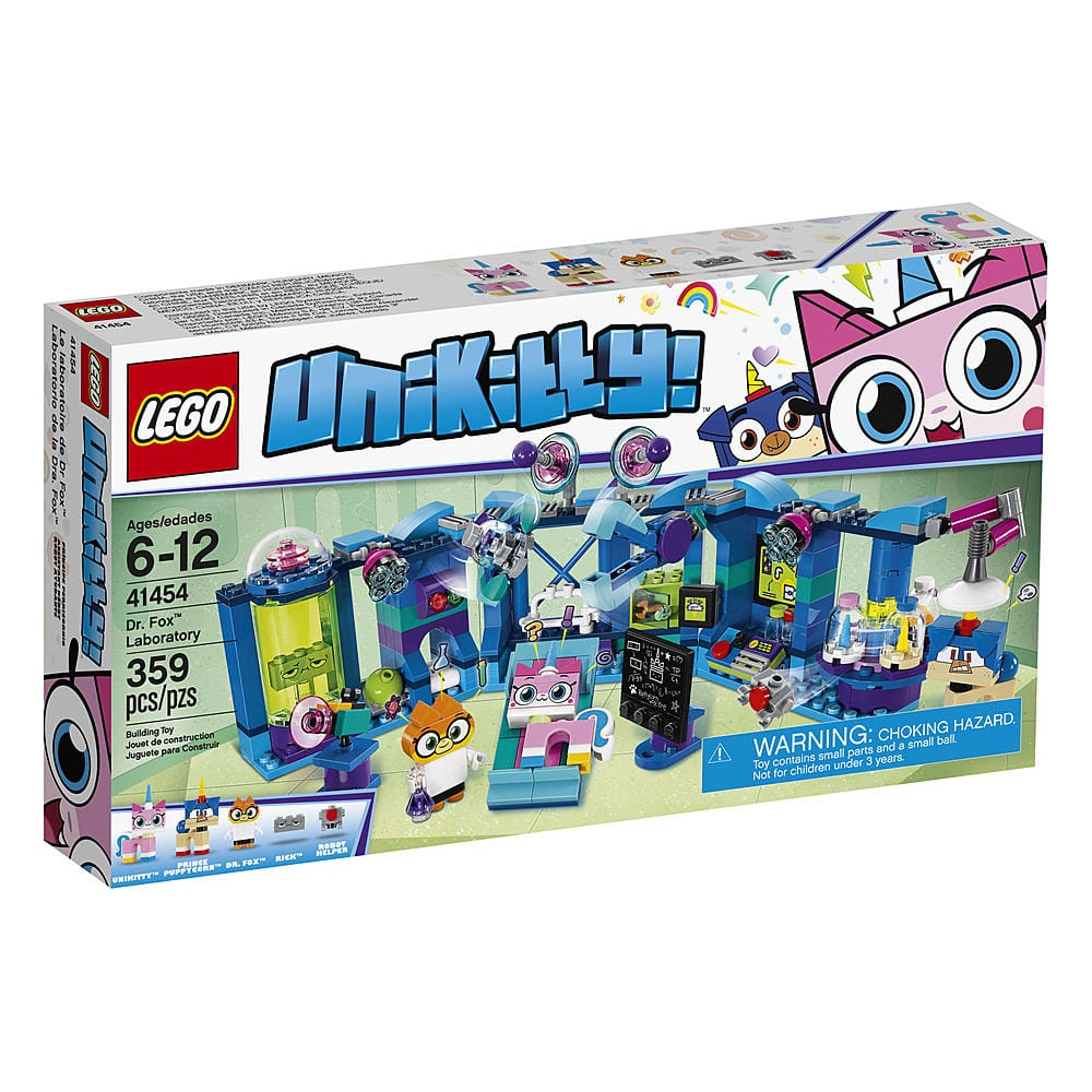 LEGO Unikitty Dr. Fox™ Laboratory 41454 $14.99