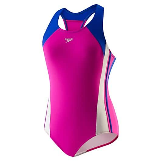 Speedo Clearance up to 70% off - Girls Infinity Splice Xtra Life LYCRA® Fiber (7-16) $13.79 + others