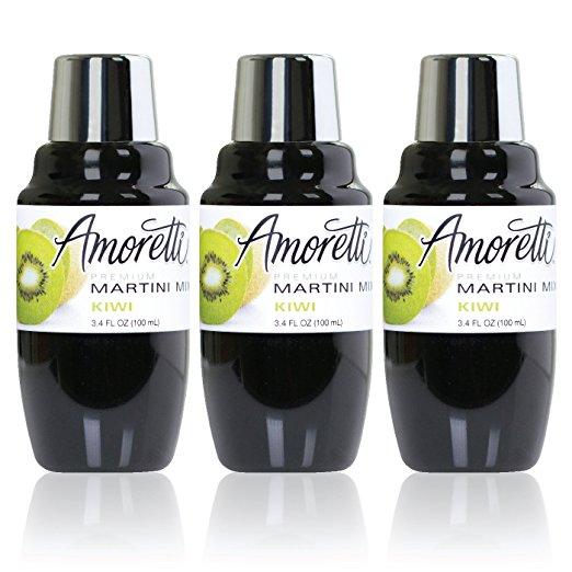 Amoretti Premium Martini Cocktail Mix Minis, Kiwi, 3.4 Fluid Ounce $3.73 Shipped Amazon S&S