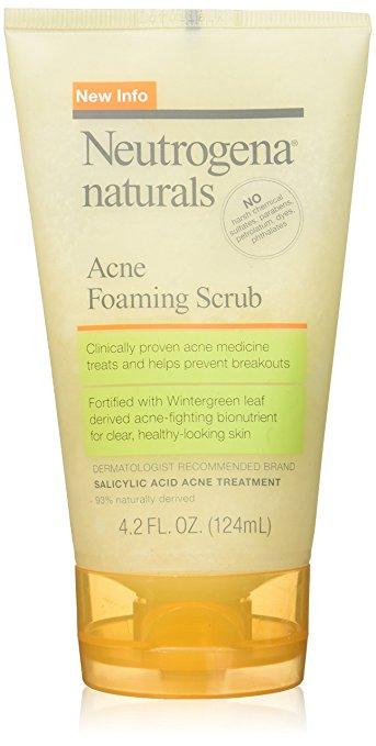 Neutrogena Naturals Acne Foaming Scrub, 4.2 Oz $1.52 AC S&S