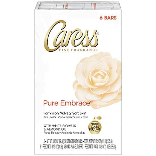 Caress Beauty Bar, Pure Embrace 3.15 oz, 6 Bar $3.57 AC Add-on
