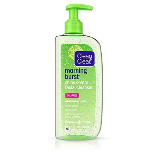Clean & Clear Morning Burst Shine Control Facial Cleanser, 8 Oz. $1.23 AC Add-on
