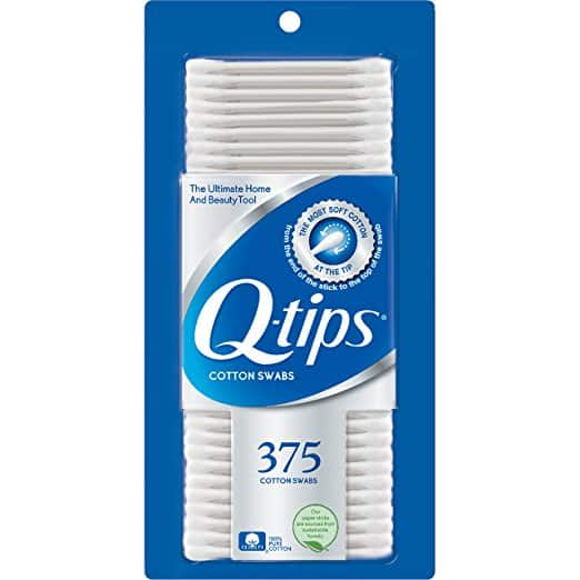 Add-on: Q-tips Cotton Swabs, 375 ct $2.69