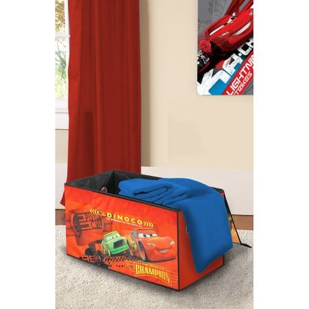 Disney Cars Oversized Soft Collapsible Storage Toy Trunk $10.99 @Walmart