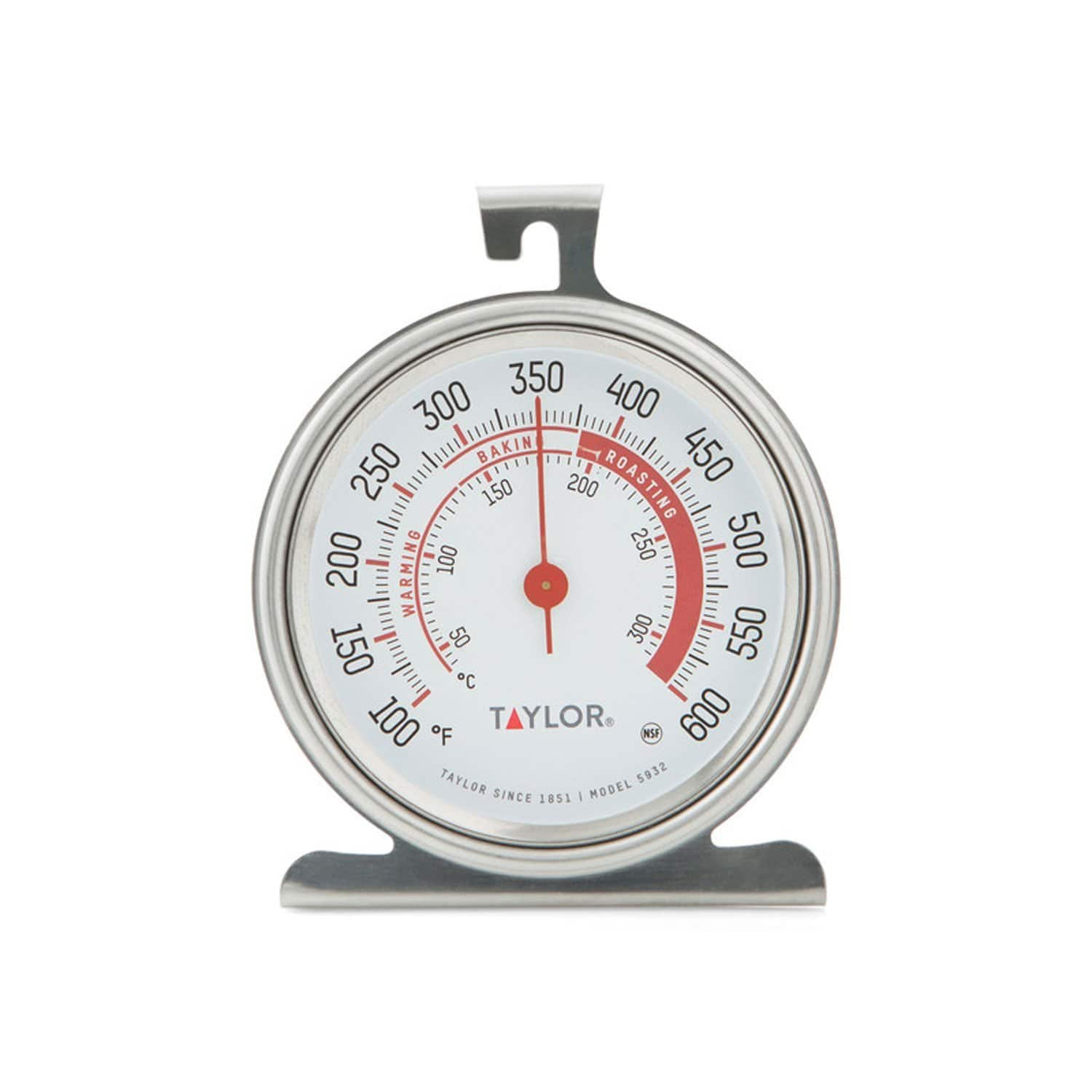 Taylor Classic Series Large Dial Oven Thermometer [Oven] $4.36+Free shipping with prime