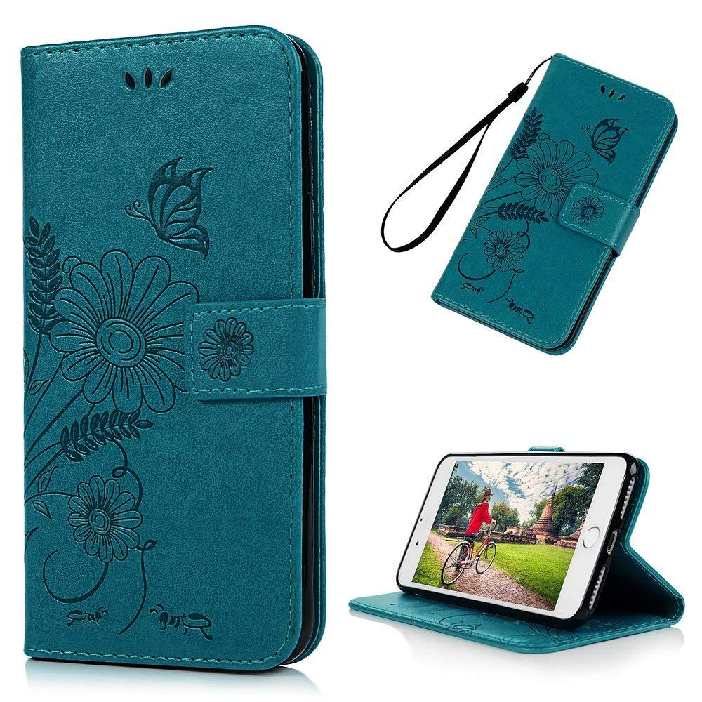 YOKIRIN iPhone 7 Plus / iPhone 8 Plus  Premium PU Leather Wallet Case $2.7