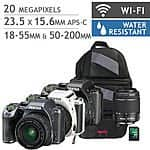 Pentax K-S2 DSLR, 2 lens, bag and 32gb sd card bundle at Costco $499