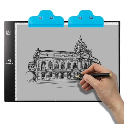 A4 Portable LED Light Box Tracer Pad Board Tablet for Artists Drawing $18.95
