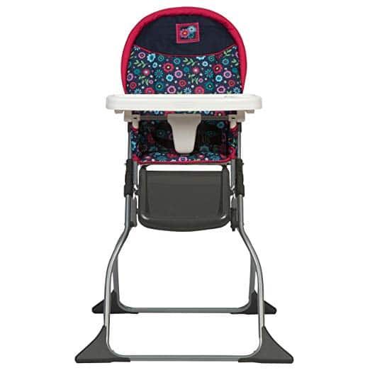 Amazon has the cosco high chair in flower garden color for $28