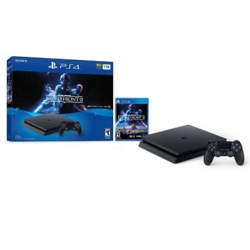 $150 PS4 1TB Star Wars Battlefront II Bundle with Best Buy Pricematch via Walmart (YMMV)