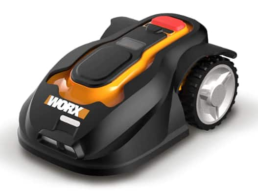 WORX WG794 Landroid Pre-Programmed Robotic Lawn Mower with Rain Sensor and Safety Shut-Off $500