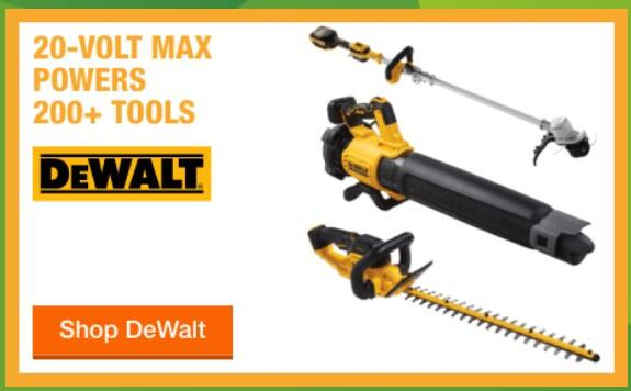 $50 OFF 2 SELECT TOOLS OR $100 OFF 3 SELECT TOOLS -Add same brand Milwaukee, Dewalt, Makita OUTDOOR power tools to cart for instant savings. Valid 3/31–7/5/2020 Free Ship.